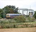 Train approaching Littleport Station - geograph.org.uk - 1492153.jpg