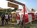 Trakošćanski streličari na Renesansnom festivalu - natpis.jpg