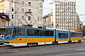 Tram in Sofia mear Macedonia place 2012 PD 013.jpg