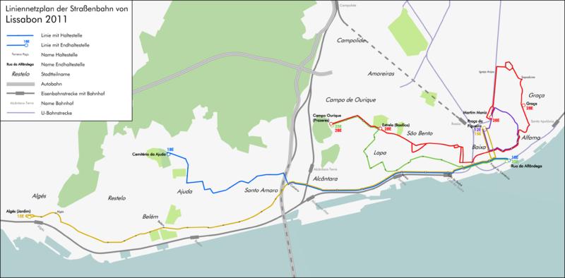 Ficheiro:Tram map Lisbon 2011.png
