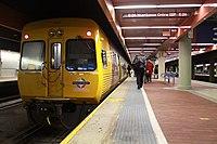 TransAdelaide 3000 class railcar at Adelaide station.jpg