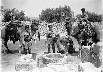Transjordan Frontier Force - Trans Jordan Frontier Force units. Photo taken in 1934–1939