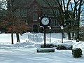 Trautman Square at Wagner College in the Wintertime.jpg