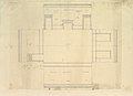 Treasury House, 10 Downing Street, London- Plan of the End Room Below (Northwest Corner Room, First Floor) MET DP829099.jpg