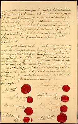 Резултат с изображение за договора Гуадалупе Идалго