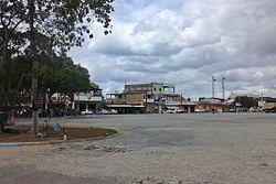 Trevo na entrada de Itabela BA.JPG