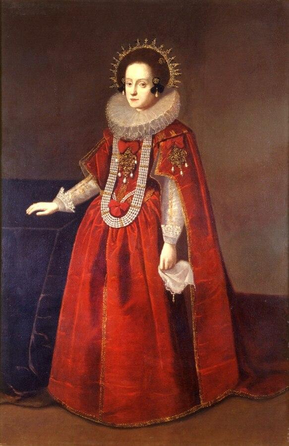 Portrait of Queen Constance of Austria.