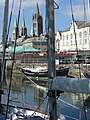 Truro cathedral from the waterfront - geograph.org.uk - 549039.jpg