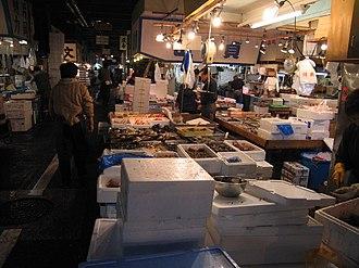 Tsukiji - Tsukiji fish market