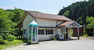 Tsukizaki Station Railway station in Ichihara, Chiba Prefecture, Japan