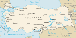 Geography of Turkey Wikipedia