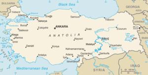 Karta Europa Turkiet.Turkiska Wikipedia
