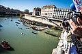 Tuffo di inizio anno da Ponte Cavour.jpg