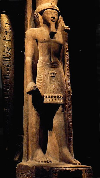 English: Statue of king Seti II from the Egypt...