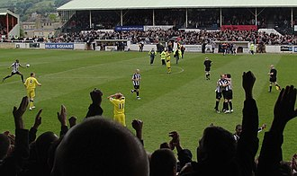 Bath City F.C. - Twerton Park hosting the 2009 Conference South Play Off Final