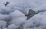 Two Typhoon FGR4 aircraft, flown by 29 (R) Squadron from RAF Coningsby MOD 45164125.jpg
