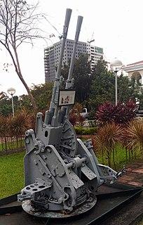 Type 96 25 mm AT/AA Gun Anti-Aircraft/Anti-tank, Autocannon