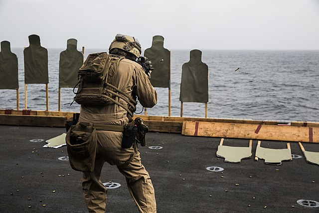 gunfire at sea Heavy gunfire is reported from  last october an attacker killed two saudi guards and injured three others at the gate of the royal palace in the red sea.