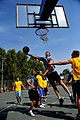 U.S. Soldiers with the 5th Battalion, 7th Air Defense Artillery Regiment and Israeli soldiers compete in a basketball game during a field competition as part of Austere Challenge 2012 in Hazor, Israel 121101-F-QW942-419.jpg