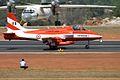 U2470 HAL HJT-16 Kiran Indian Air Force ( Surya Kiran Aerobatic Team ) (8413506641).jpg