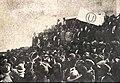 UNMSM Manifestación 1930 Bandera FEU.jpg
