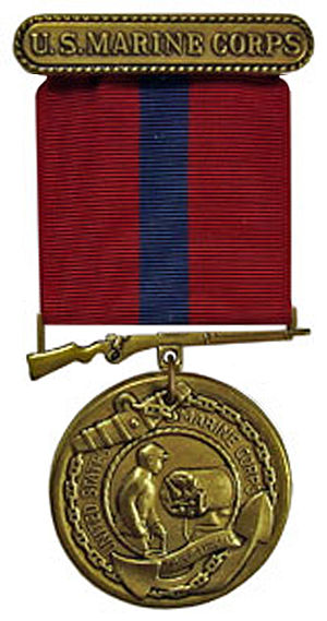 "Good Conduct Medal (United States) - An older version of the ""U.S. Marine Corps"" Good Conduct Medal."