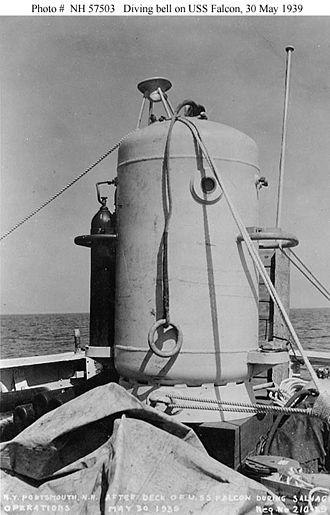 McCann Rescue Chamber - Momsen-McCann Rescue Bell Prototype