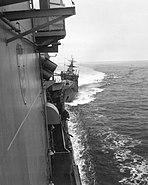 USS Caron (DD-970) collision