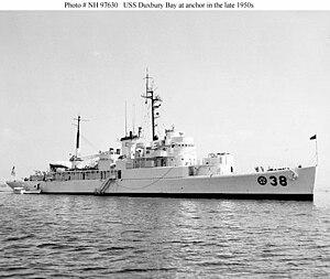 USS Duxbury Bay (AVP-38) 1959