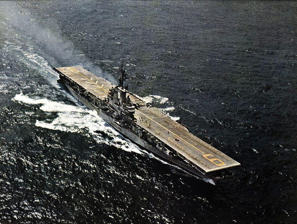 USS Essex CVA 9 1957 Cruise Book
