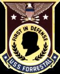 USS Forrestal (CV-59) insignia 1986.png