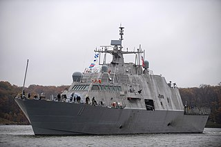 USS <i>Sioux City</i> Littoral combat ship of the United States Navy