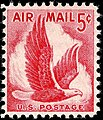 US Airmail Eagle 5c 1958 issue.JPG