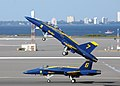 US Navy 021101-N-2329H-261 Blue Angels Six and Seven take flight.jpg