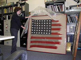 Conservation and restoration of flags and banners