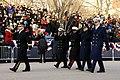 US Navy 090120-A-3085H-314 Army Maj. Gen. Richard Rowe Jr. leads Rear Adm. Earl L. Gay, Marine Corps Maj. Gen. Willie J. Williams, Air Force Maj Gen. Ralph J. Jodice II, and Coast Guard Rear Adm. J. Scott Burhoe in the 56th Pre.jpg
