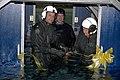 US Navy 090428-N-7689P-001 dignitaries cut the ribbon on the new 9D6 dunker.jpg