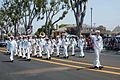 US Navy 090516-N-9706M-088 The Navy Region Southwest band marches in the 50th annual Torrance Armed Forces Day Parade.jpg