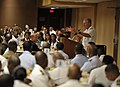 US Navy 090721-N-8273J-085 Chief of Naval Operations (CNO) Adm. Gary Roughead delivers remarks during the National Naval Officer's Association Navy Day luncheon.jpg