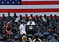 US Navy 110604-N-IZ292-315 Vice President Joe Biden speaks to U.S. and NATO services members and their families at Naval Support Activity, Naples,.jpg