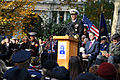 US Navy 111111-N-AW702-002 Chief of Naval Operations Adm. Jonathan W. Greenert delivers remarks at Madison Square Park during a Veteran's Day parad.jpg