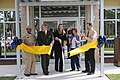 US Navy 120112-N-ZN848-044 VIPs cut the ribbon at a new youth center at Naval Support Activity Panama City.jpg