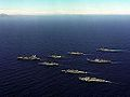 US Navy ships in parade formation c1987.jpeg