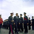 US President JF Kennedy inspects Bermuda Rifles 1961.jpg