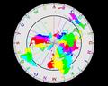 UTC hue4map X world CET-24h-NorthPolarProjection.png