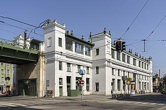 Gürtel, Vienna - U-Bahn station Alser Straße at Hernalser Gürtel, seen towards the north