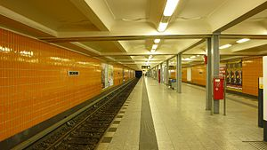 Berlin-Wedding station - Subway station Wedding
