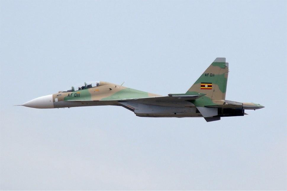Uganda People%27s Defence Force Air Wing Sukhoi Su-30MK2 MTI-2