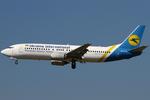 Ukraine International Airlines Boeing 737-400 UR-GAM FRA 2012-9-8.png