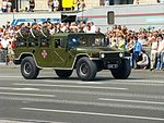 Ukrainian Humvees - Independence Day parade in Kiev.JPG